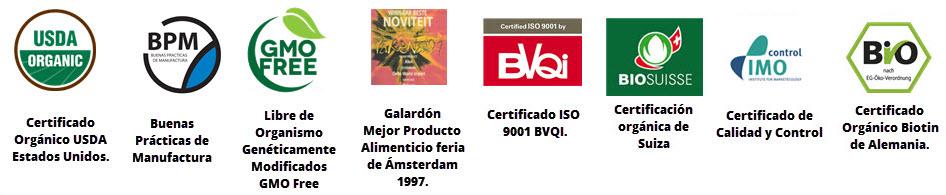 certificaciones de calidad de alen y eveliza