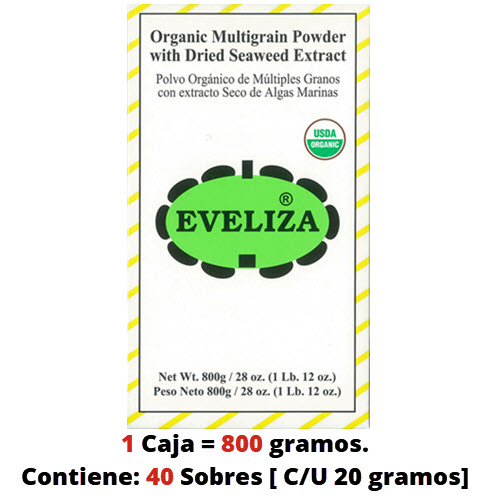 box of eveliza gluten free
